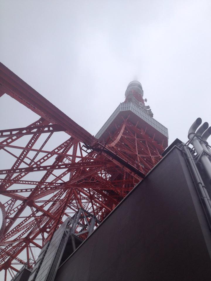 6/8 in 東京タワー!レッスン撮影開始♪