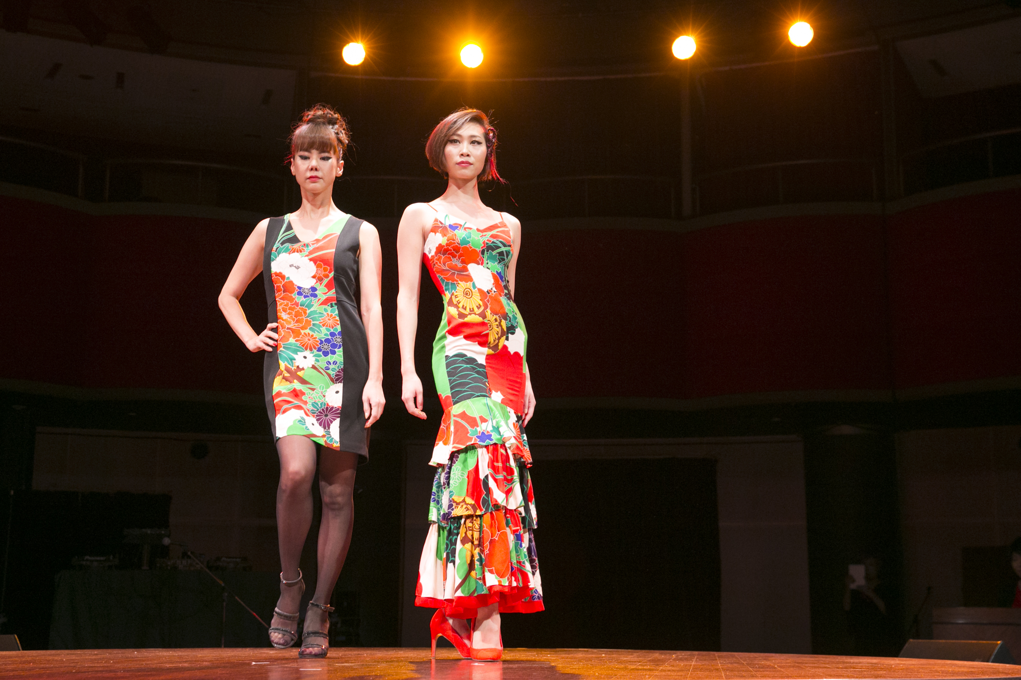 3部~showtimeNYの旅へ④【NYスタイル★Xmas&Happy newyearパーティー】special guests ☆kimonoドレス fashion show (美Japon)編~