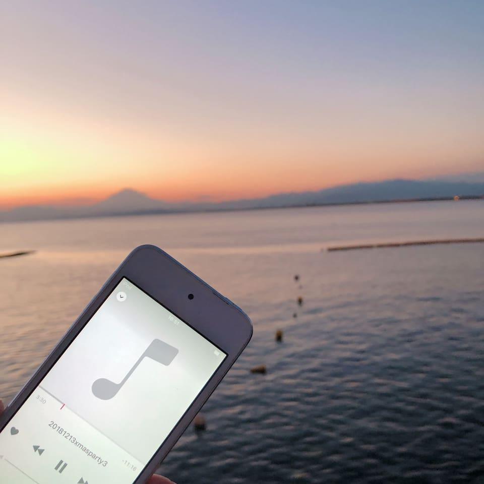 超贅沢✨海🏖と富士山🗻眺めながら振付演出❣️