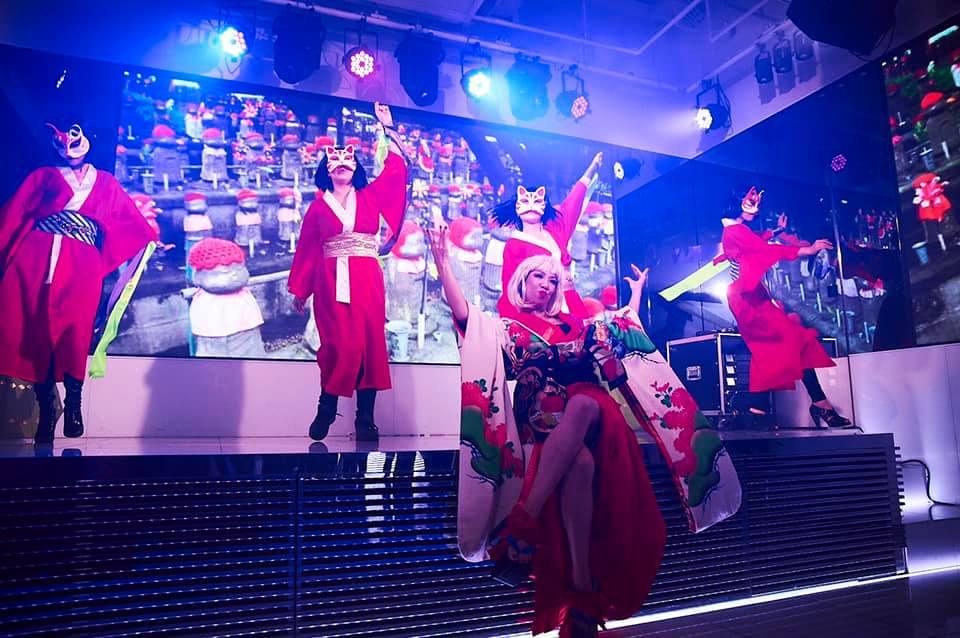 花魁道中=手遊びダンス〜NY Style Collection🎄Xmas party〜②