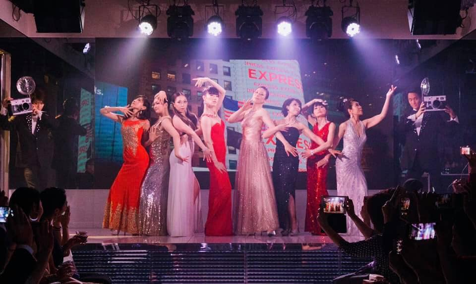 Pose&Danceランウェイshow〜NY Style Collection🎄Xmas party 2019〜①