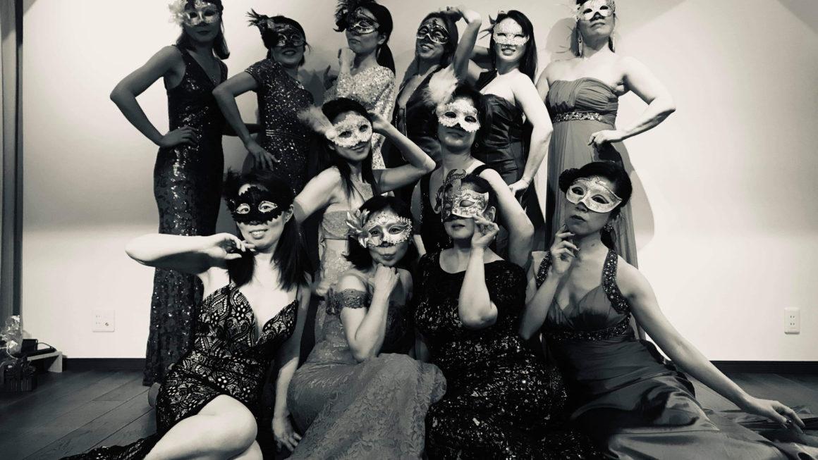ランウェイリハーサル【NY Style Collection Masqueradeパーティー】