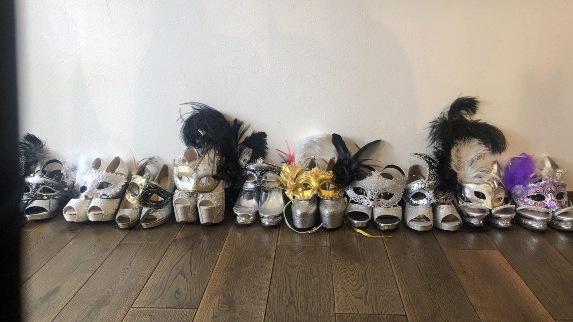 本番ランウェイリハーサル 【NY Style Collection Masqueradeパーティー】満員御礼★感謝
